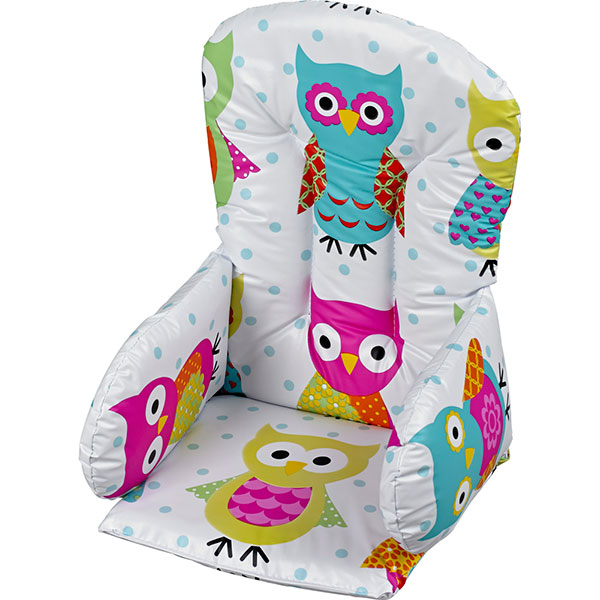 Coussin de chaise pvc hibou Geuther