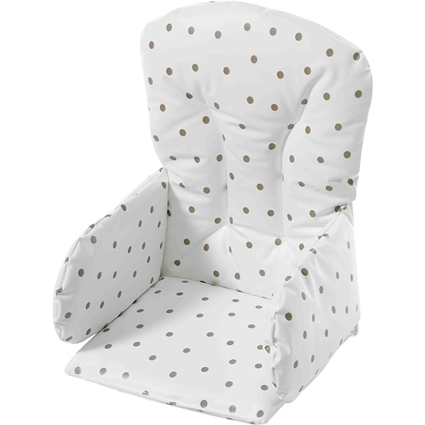 coussin de chaise pvc pois 5 sur allob b. Black Bedroom Furniture Sets. Home Design Ideas