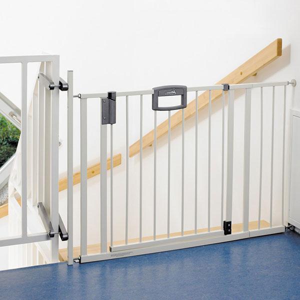 Kit escalier pour easylock blanc argent Geuther