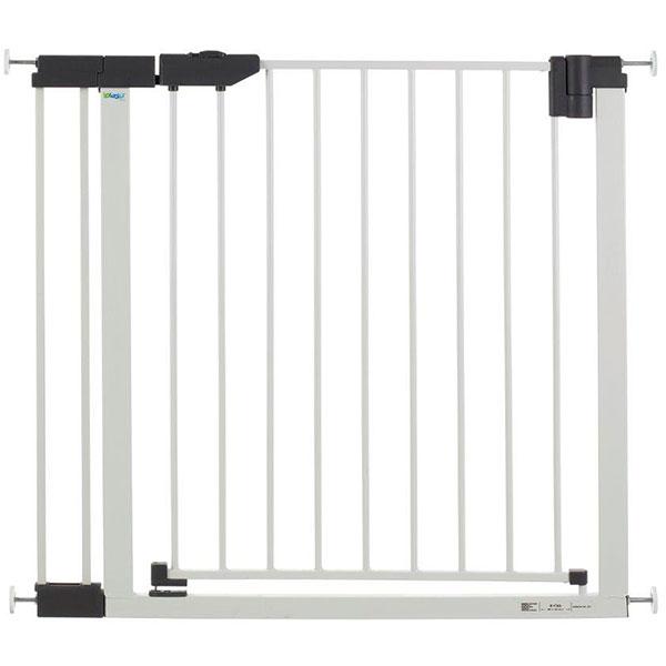 Extension 9 cm pour barrière easylock light métal blanc / argent Geuther