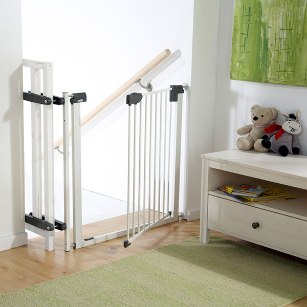 Barriere securite bebe escalier for Barriere escalier leroy merlin
