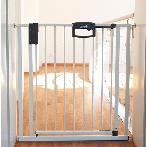 Barrière de sécurité easylock 80.5-88.5cm blanc Geuther