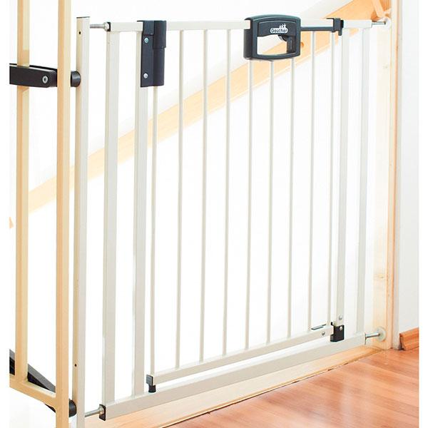 Barrière de sécurité easylock 84.5-92.5cm blanc Geuther
