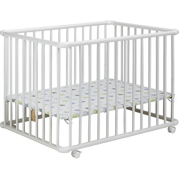 soldes parc b b belami 73x102cm blanc toile 30 sur allob b. Black Bedroom Furniture Sets. Home Design Ideas
