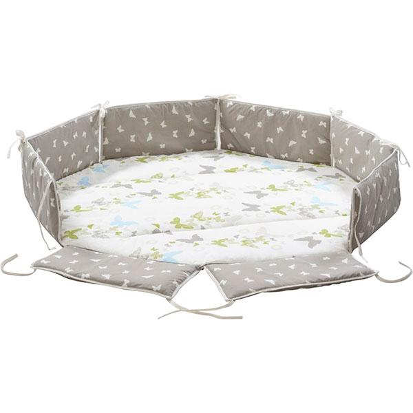 soldes tapis de parc avec bords octo parc papillon 30. Black Bedroom Furniture Sets. Home Design Ideas