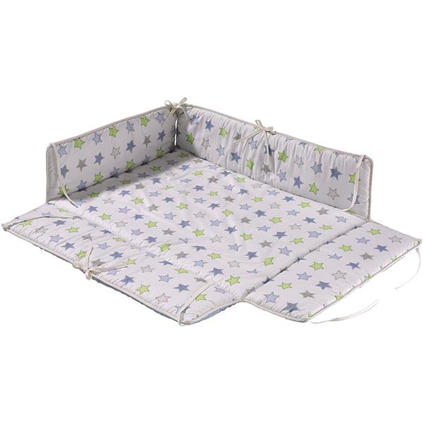 soldes tapis de parc avec bords rectangulaire etoile 25. Black Bedroom Furniture Sets. Home Design Ideas