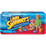Huggies little swimmers t6 16 kg et + de 10 couches pas cher