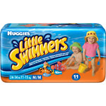 Huggies little swimmers t5 11/18 kg de 11 couches pas cher