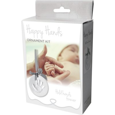Kit happy handy à accrocher, ruban argenté Happy hands