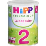 Hipp 2 lait de suite 900 g dès 6 mois pas cher