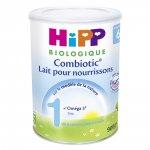 Lait bébé hipp 1 combiotic biologique pour nourrissons