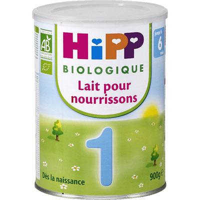 Hipp Hipp 1 lait pour nourissons 900 g dès 0-6 mois