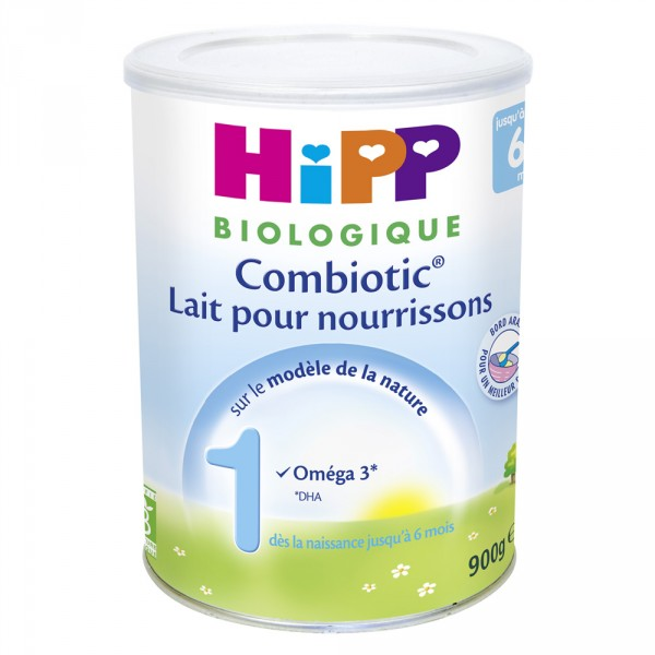 Lait bébé hipp 1 combiotic biologique pour nourrissons Hipp