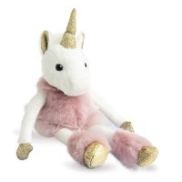 Peluche bébé licorne glitter 25cm