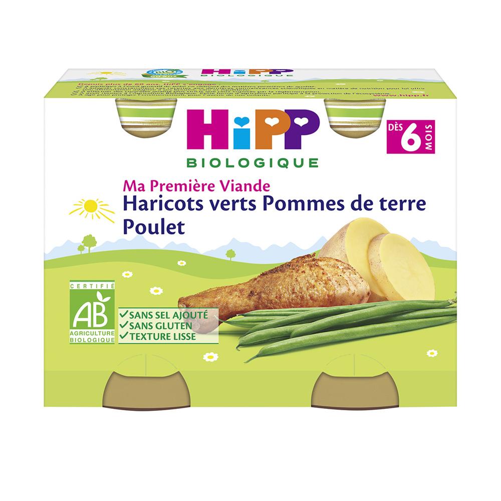Petit pots haricots verts pommes de terre poulet de hipp - Quand semer les haricots verts en pleine terre ...