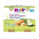 Petits pots gratin de courgettes petits légumes pas cher