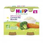 Petits pots carottes riz brocolis