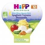 Assiette spaghetti tomates mozzarella 230 g pas cher
