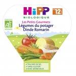 Légumes du potager dinde romarin 230 g dès 12 mois pas cher