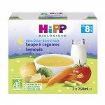 Briques soupe aux 6 légumes et semoule 2 x 250 ml pas cher