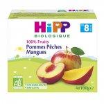 Coupelles 100% fruits pommes pêches mangues pas cher