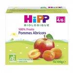 Coupelles 100% fruits pommes abricots pas cher
