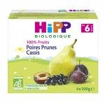 Coupelles 100% fruits poires prunes cassis pas cher