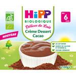 Crème dessert cacao 4x100 g pas cher
