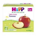 Coupelles 100% fruits pommes pas cher