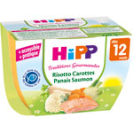 Bol risotto carottes panais saumon 220 g pas cher