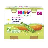 Petits pots petits pois carottes