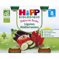 Petit pots légumes méditerranéens