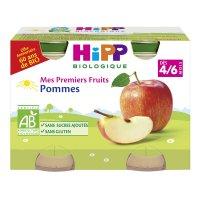 Petits pots mes premiers fruits: pommes