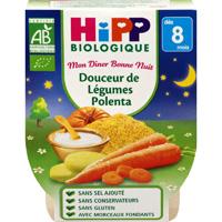 Bols douceur de légumes polenta