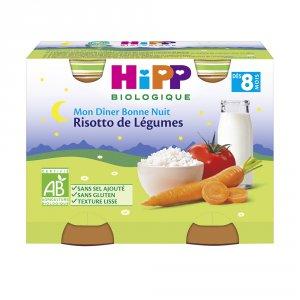 Hipp Petits pots risotto de légumes