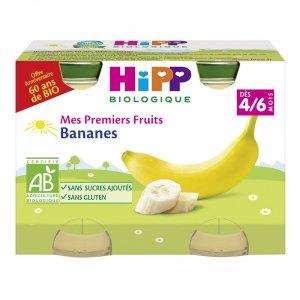 Petits pots mes premiers fruits: bananes