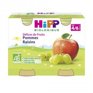 Pommes raisins 190g dès 4 mois
