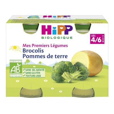 Petits pots brocolis pommes de terre Hipp