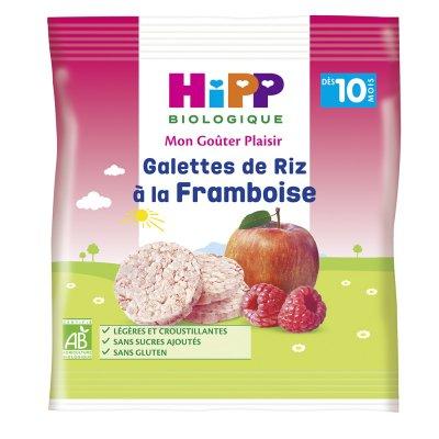 Galettes de riz à la framboise Hipp