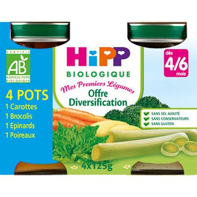 Diversification : carottes, carottes blanche, panais, poireaux Hipp