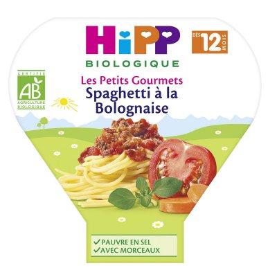 Spaghetti à la bolognaise 230 g dès 12 mois Hipp