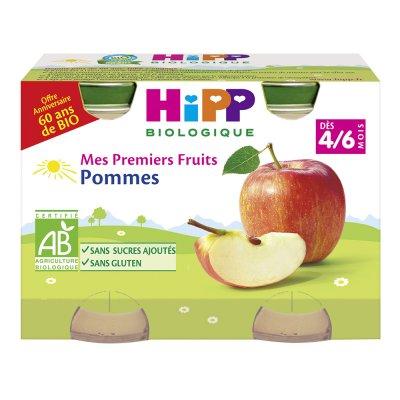 Petits pots mes premiers fruits: pommes Hipp
