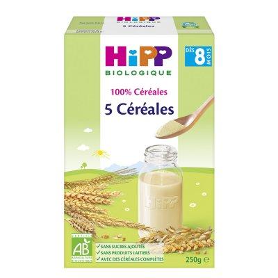Petit déjeuner 5 céréales 250 g Hipp