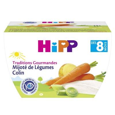 Bol mijoté de légumes colin 190 g Hipp