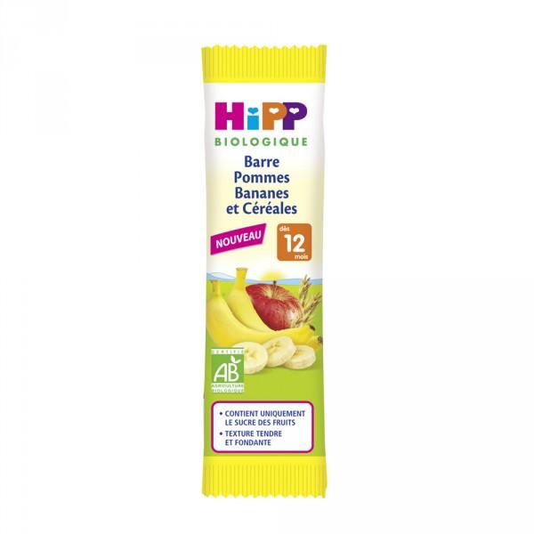 Barre pommes bananes et céréales Hipp