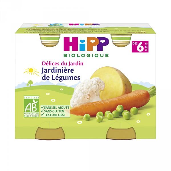 Petits pots jardinière de légumes Hipp