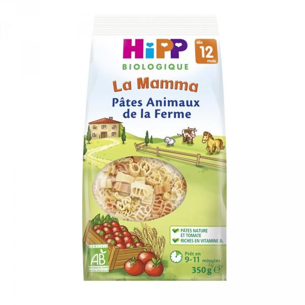 Mes premières pâtes animaux de la ferme Hipp