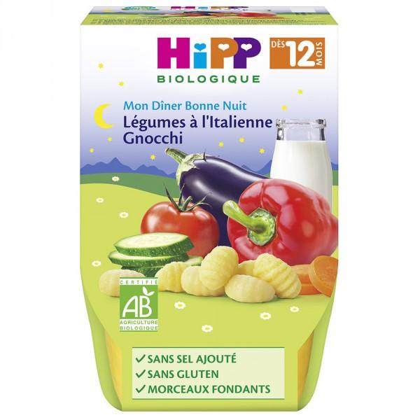 Bols légumes à l'italienne gnocchi 2 x 220 g Hipp