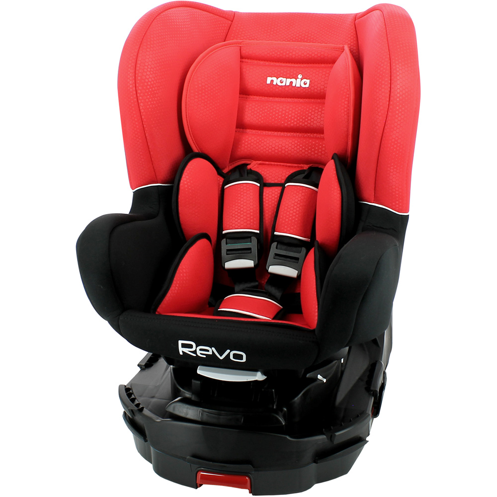 si ge auto revo 360 isofix rouge groupe 0 1 de nania. Black Bedroom Furniture Sets. Home Design Ideas