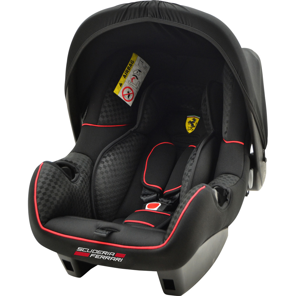 si ge auto coque beone ferrari noir groupe 0 de nania sur allob b. Black Bedroom Furniture Sets. Home Design Ideas
